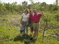 #3: The family poses at the site