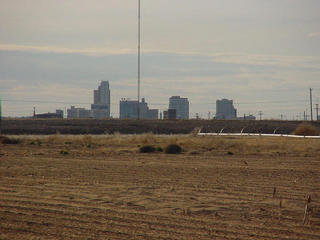 #1: The Midland skyline as seen from the confluence.
