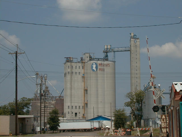 Chicken Feed Plant Downtown Pittsburg
