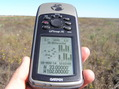 #2: GPS reading at the confluence point.