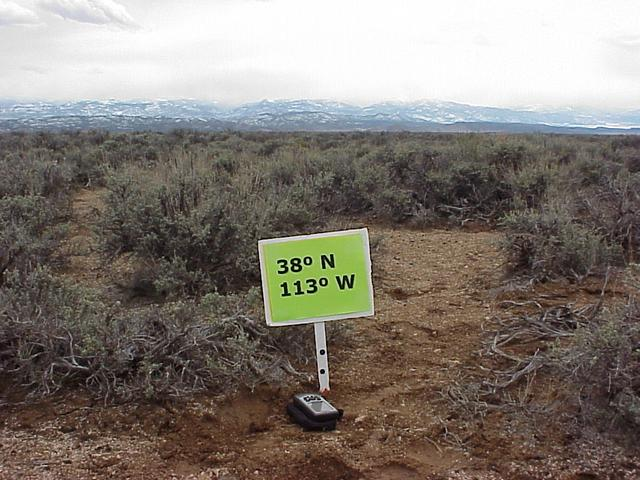 Site of Confluence, looking south.