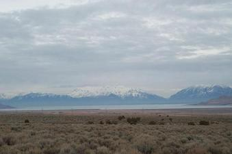 #1: The mountains over Utah lake, to the NE, from the confluence