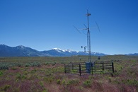 #9: An automated weather station, 0.7 miles South of the point
