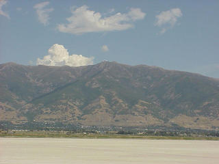 #1: Wasatch Mountain Range to the East