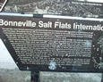 #5: marker at the near-by Bonneville Salt Flats racing site