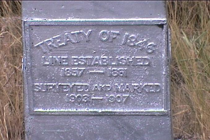 border monument plaque