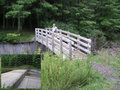#4: Taking the trail over this wooden bridge eliminates any need to cross the spillway at the earthen dam.