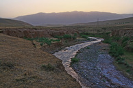 #5: foothills of Pamir and Alay Mts. and stream Gazak (?)