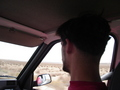 #9: driving through the desert
