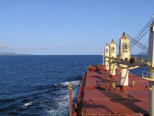 Approaching the Bequia Channel