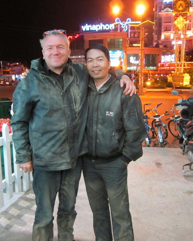 Tuan and me back in Dalat