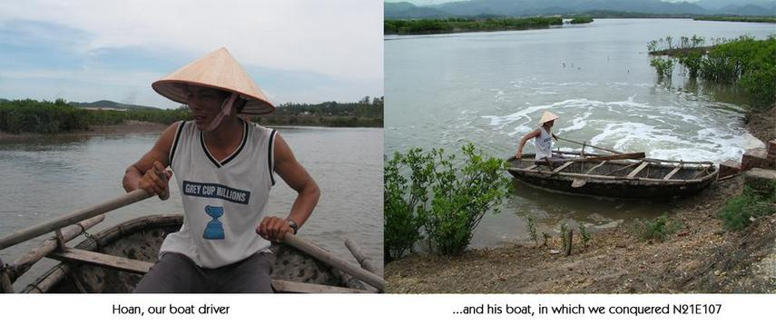 The boat and the owner