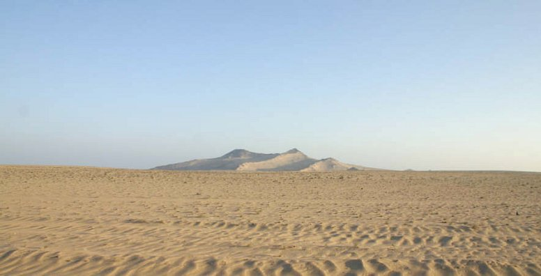 The Lahij desert
