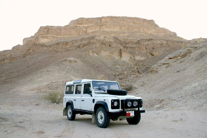 Landy at confluence point