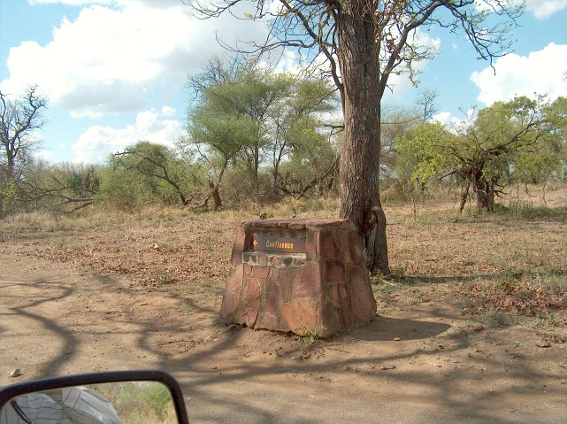 Did the Kruger Park anticipate our arrival?  - Sign near Shingwedzi.