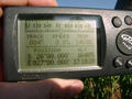 #5: GPS screen showing coordinates