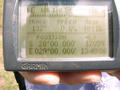 #6: GPS screen showing coordinates