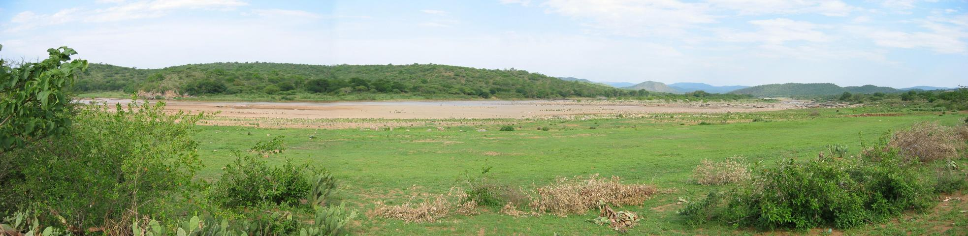 Panorama of Tugela River