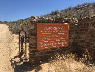 #9: Entrance of the Rooibos Farm and Nature Reserve