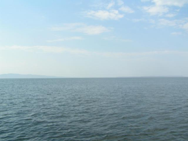View to the North, Zambian shoreline