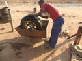 #4: Fixing the tyre