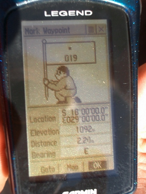Photograph of GPS